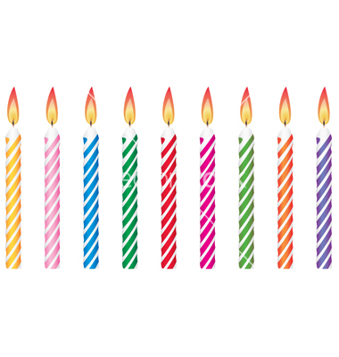 Birthday Cake Clipart - Birthday Candles, Transparent background PNG HD thumbnail