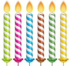 Birthday Candales (6).png - Birthday Candles, Transparent background PNG HD thumbnail