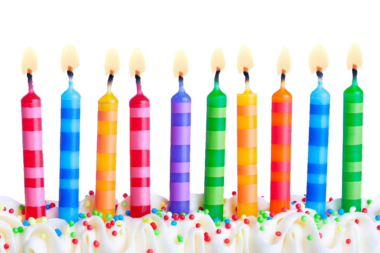 Birthday Candles Free Download Png Png Image - Birthday Candles, Transparent background PNG HD thumbnail