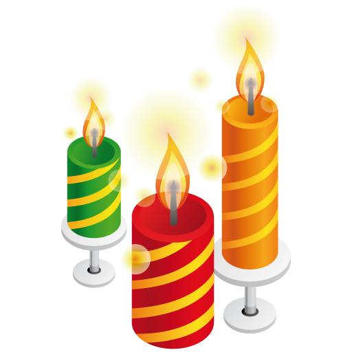 Birthday Candles Icon Image #31059 - Birthday Candles, Transparent background PNG HD thumbnail