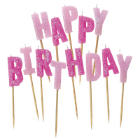 Birthday Candles Picture Png Image - Birthday Candles, Transparent background PNG HD thumbnail