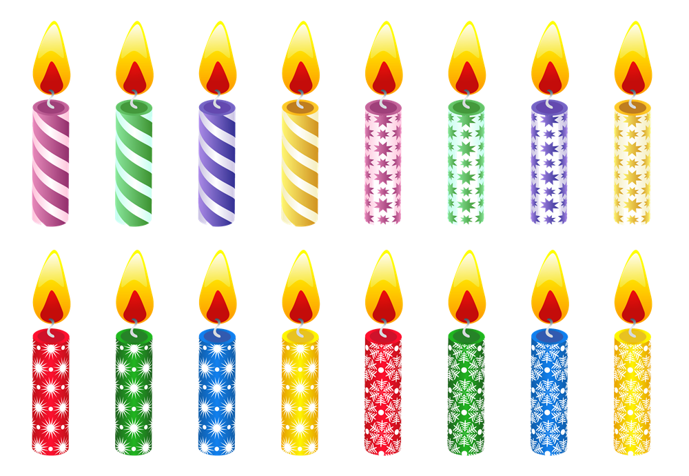 Birthday Candles Png Hd Png Image - Birthday Candles, Transparent background PNG HD thumbnail