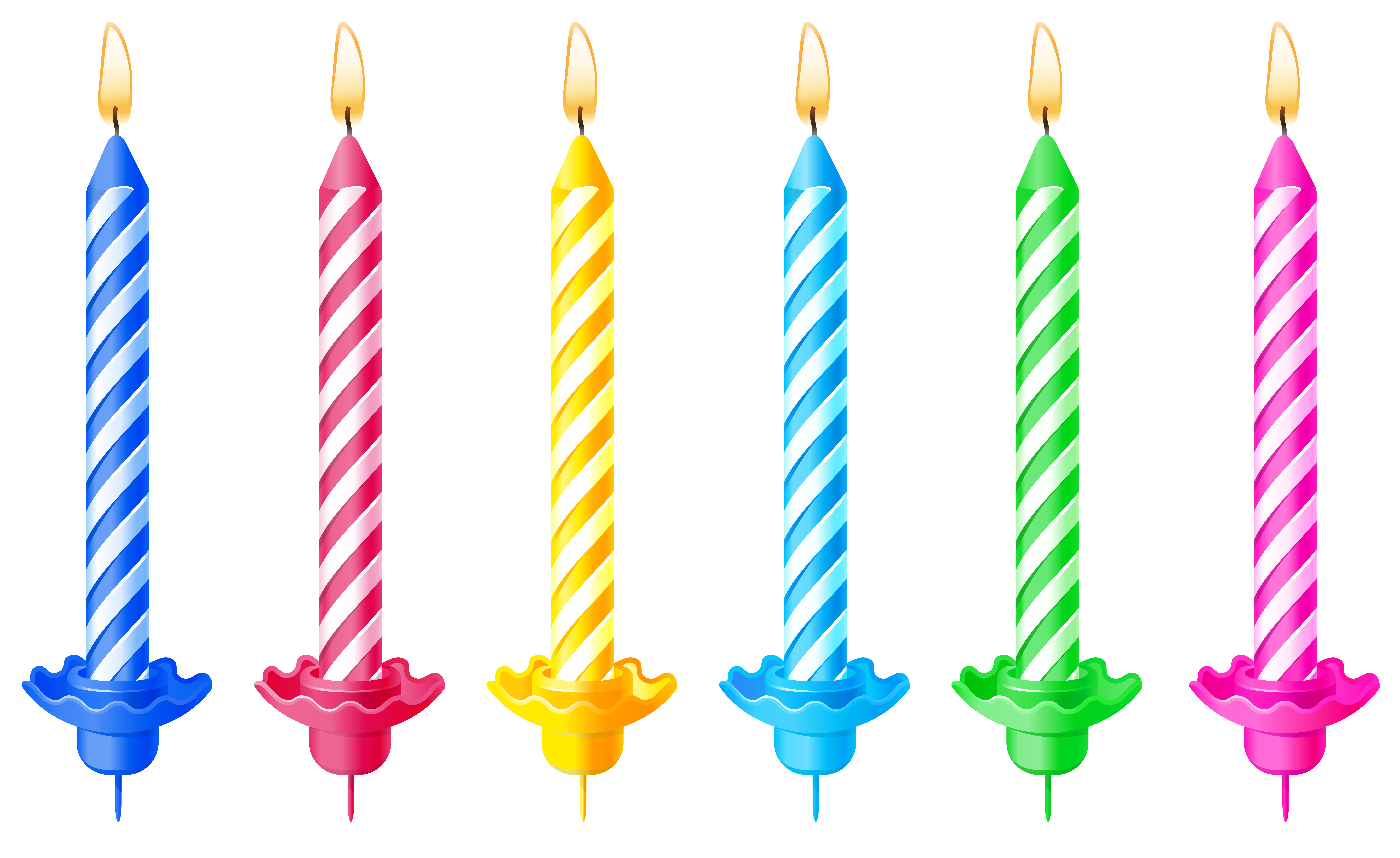 Birthday Candles Png Image #31055 - Birthday Candles, Transparent background PNG HD thumbnail