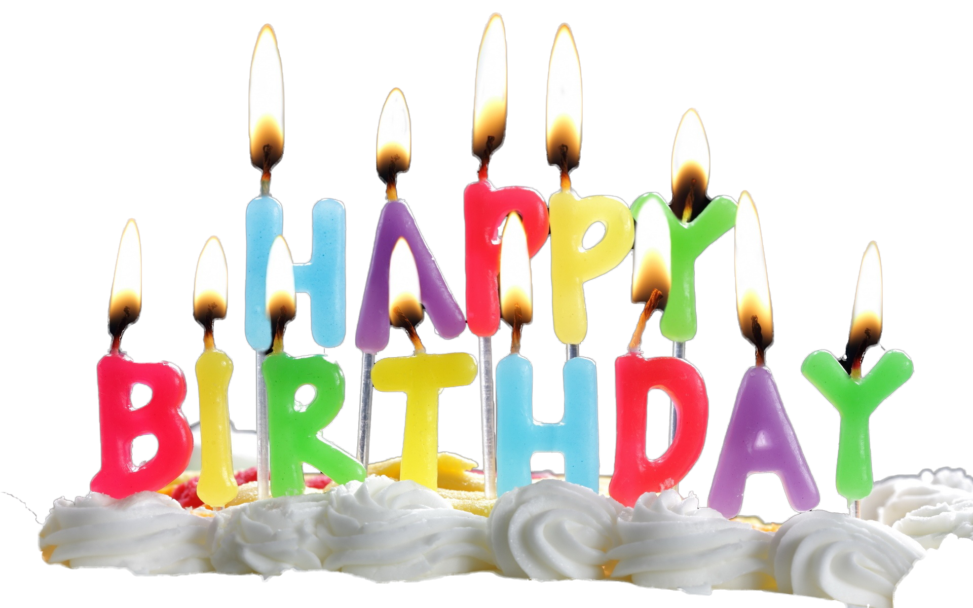 Birthday Candles Transparent Png Image - Birthday Candles, Transparent background PNG HD thumbnail