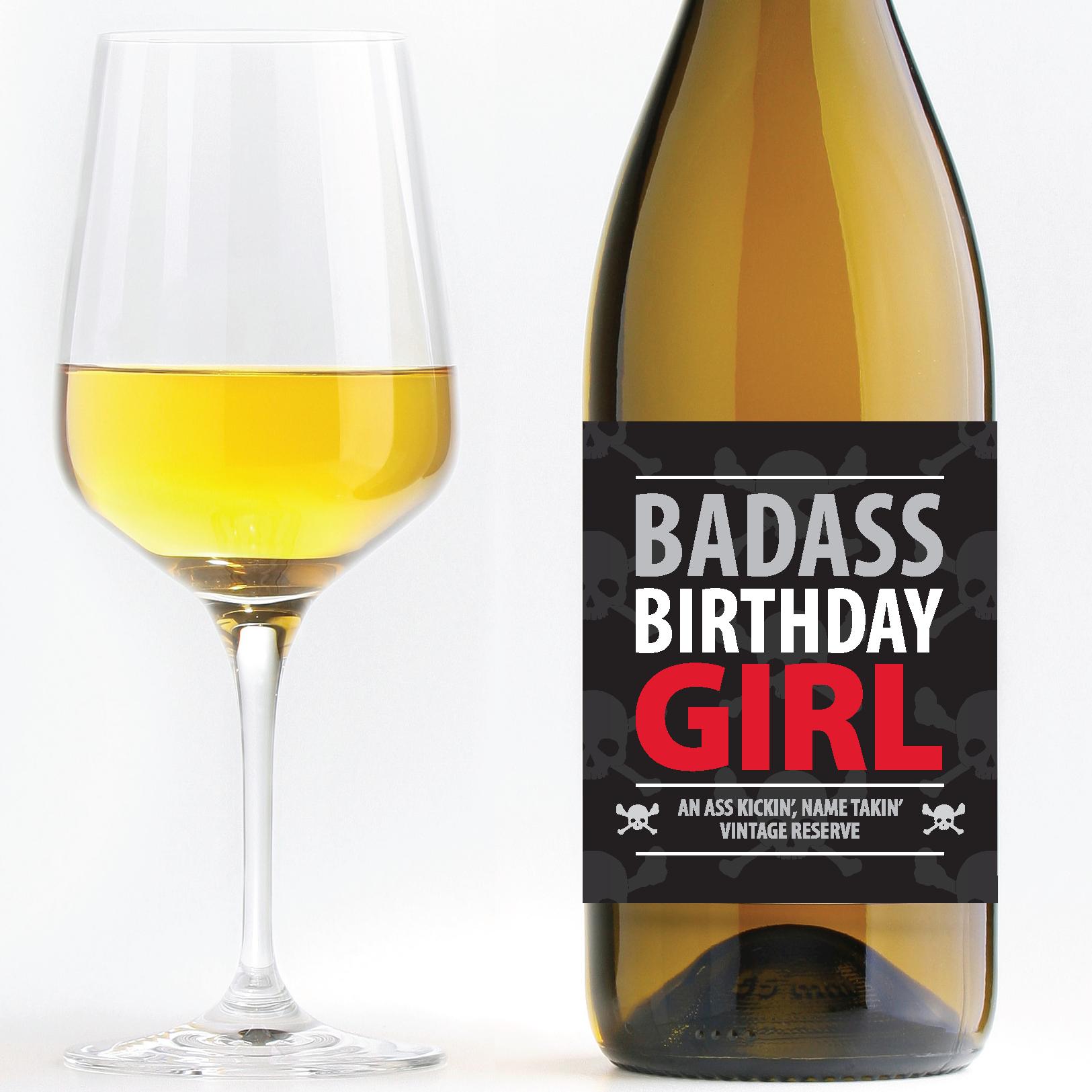 Birthday Wine Png - Badass Birthday Girl U2013 Birthday Wine Hdpng.com , Transparent background PNG HD thumbnail