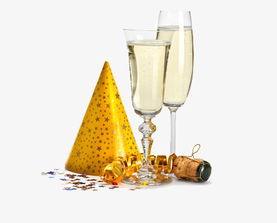Birthday Wine Png - Holiday Toast, Joyous, Blessing, Birthday Png Image And Clipart, Transparent background PNG HD thumbnail