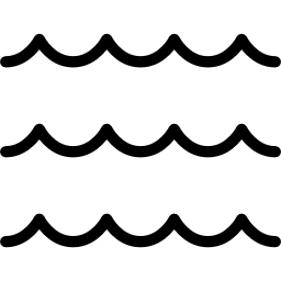 Black And White Wave PNG