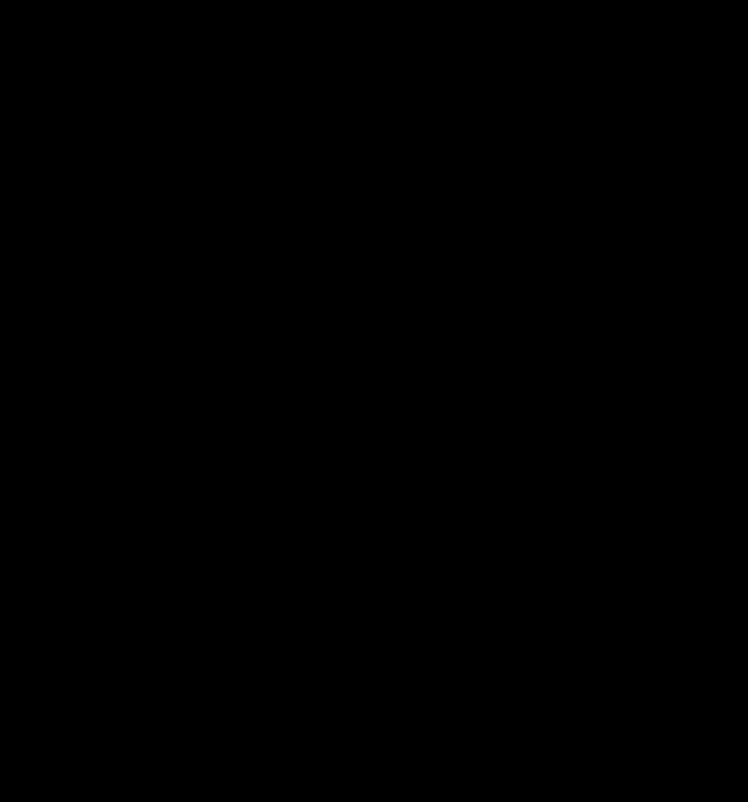 Siyah Wolf Standı Dinleyin Korkuyor Çakal Fox - Black And White Wolf, Transparent background PNG HD thumbnail