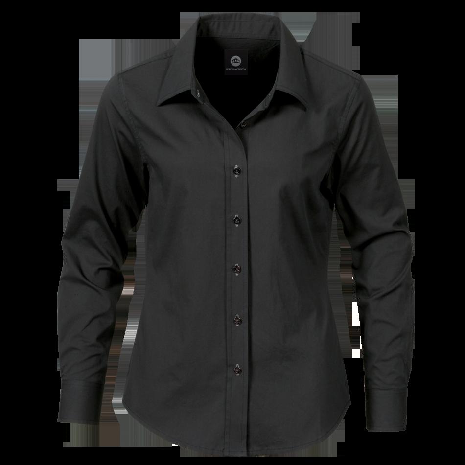 Black Dress Shirt Png Image - Dress Shirt, Transparent background PNG HD thumbnail