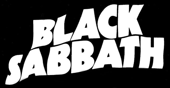 Black Sabbath In The Studio With Producer Rick Rubin   Black Sabbath 1986 Vector Png - Black Sabbath, Transparent background PNG HD thumbnail