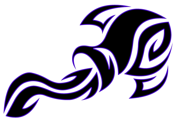 Black Tribal Aquarius Zodiac Sign Tattoo Design - Zodiac Tattoos, Transparent background PNG HD thumbnail