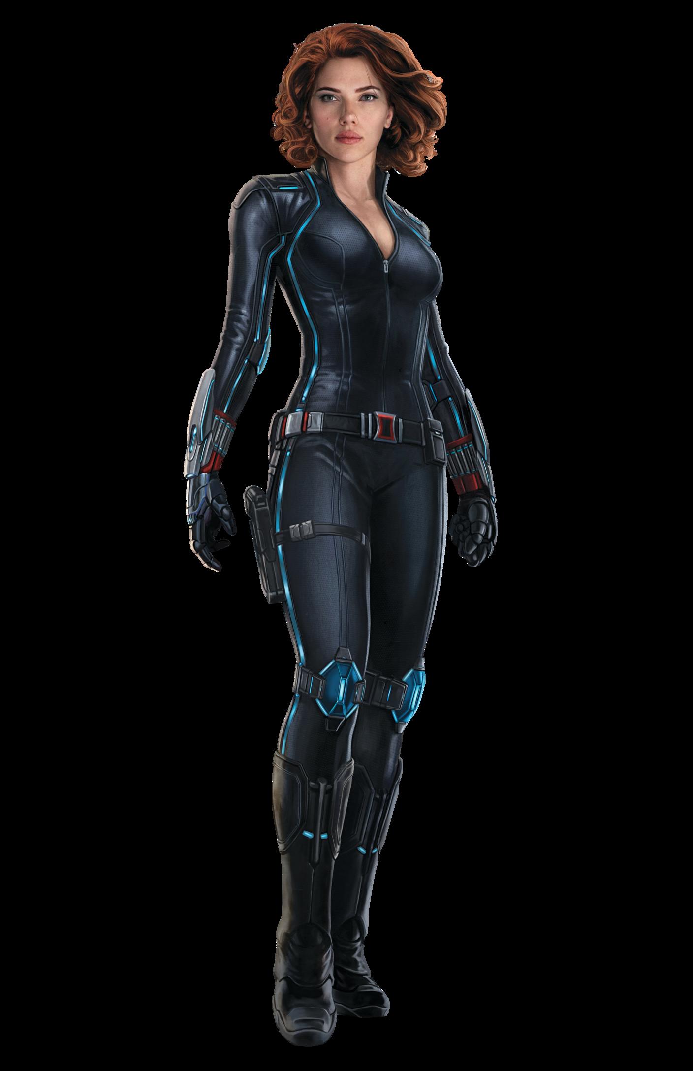 Black Widow PNG