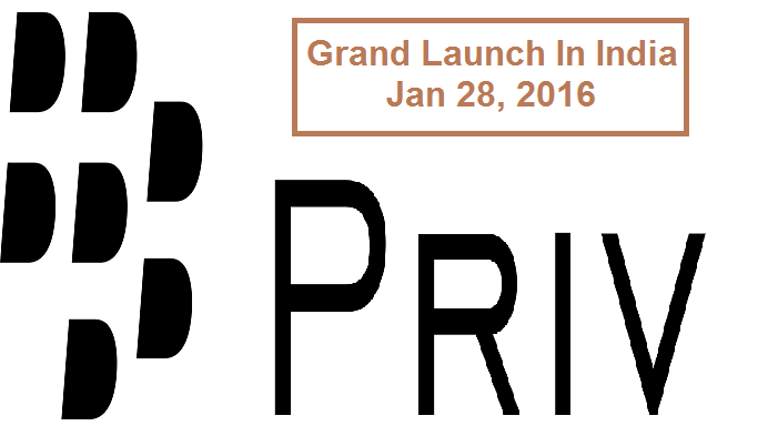 Blackberryu0027S Priv To Be Launched In India On January 28 - Blackberry Priv, Transparent background PNG HD thumbnail