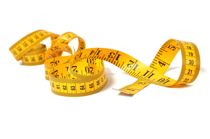 Donu0027T Rely On The Scales For The Measure Of Success. Take Body Measurements Periodically, Maybe Once A Month, And Keep Track Of That As Well As Weight. - Body Tape Measure, Transparent background PNG HD thumbnail