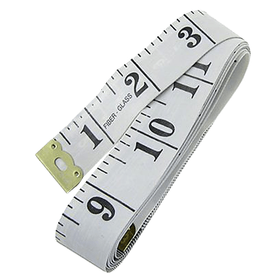 Sewing Tape Measure Transparent Image - Body Tape Measure, Transparent background PNG HD thumbnail