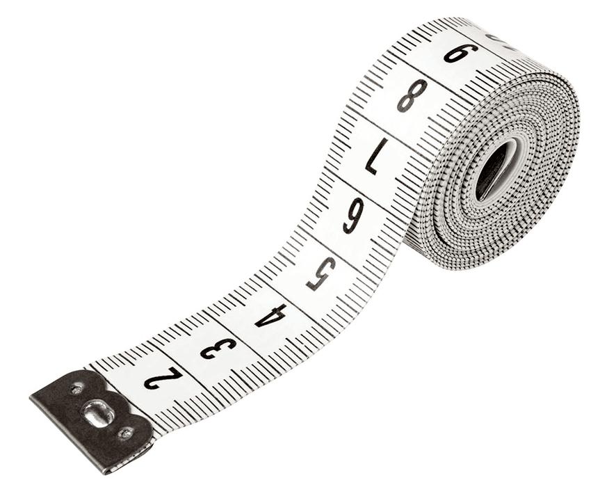 Tailor Tape Measure 11 - Body Tape Measure, Transparent background PNG HD thumbnail