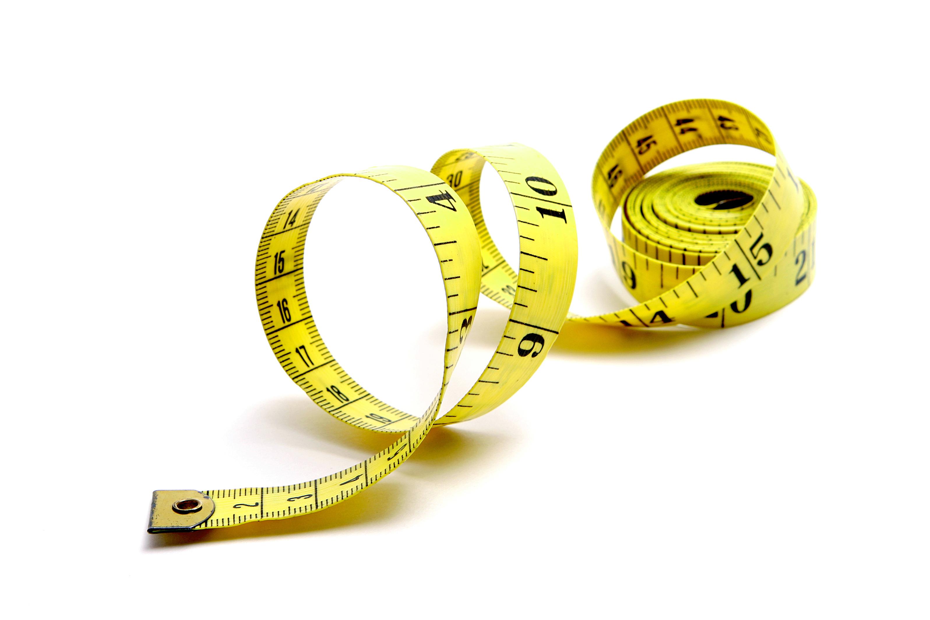 Tape Measure - Body Tape Measure, Transparent background PNG HD thumbnail