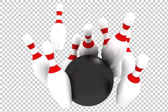 Bowling   3D Render Hdpng.com  - Bowling, Transparent background PNG HD thumbnail