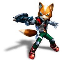 Brawl Sticker Fox (Star Fox Assault).png - Star Fox, Transparent background PNG HD thumbnail
