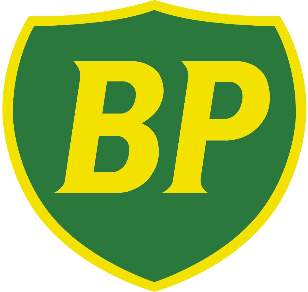The Final Version Of The Bp Shield Logo, Introduced In 1989 And Used Until 2002; The Shield Logo Was Originally Designed By Ar Saunders In 1920 - British Petroleum, Transparent background PNG HD thumbnail