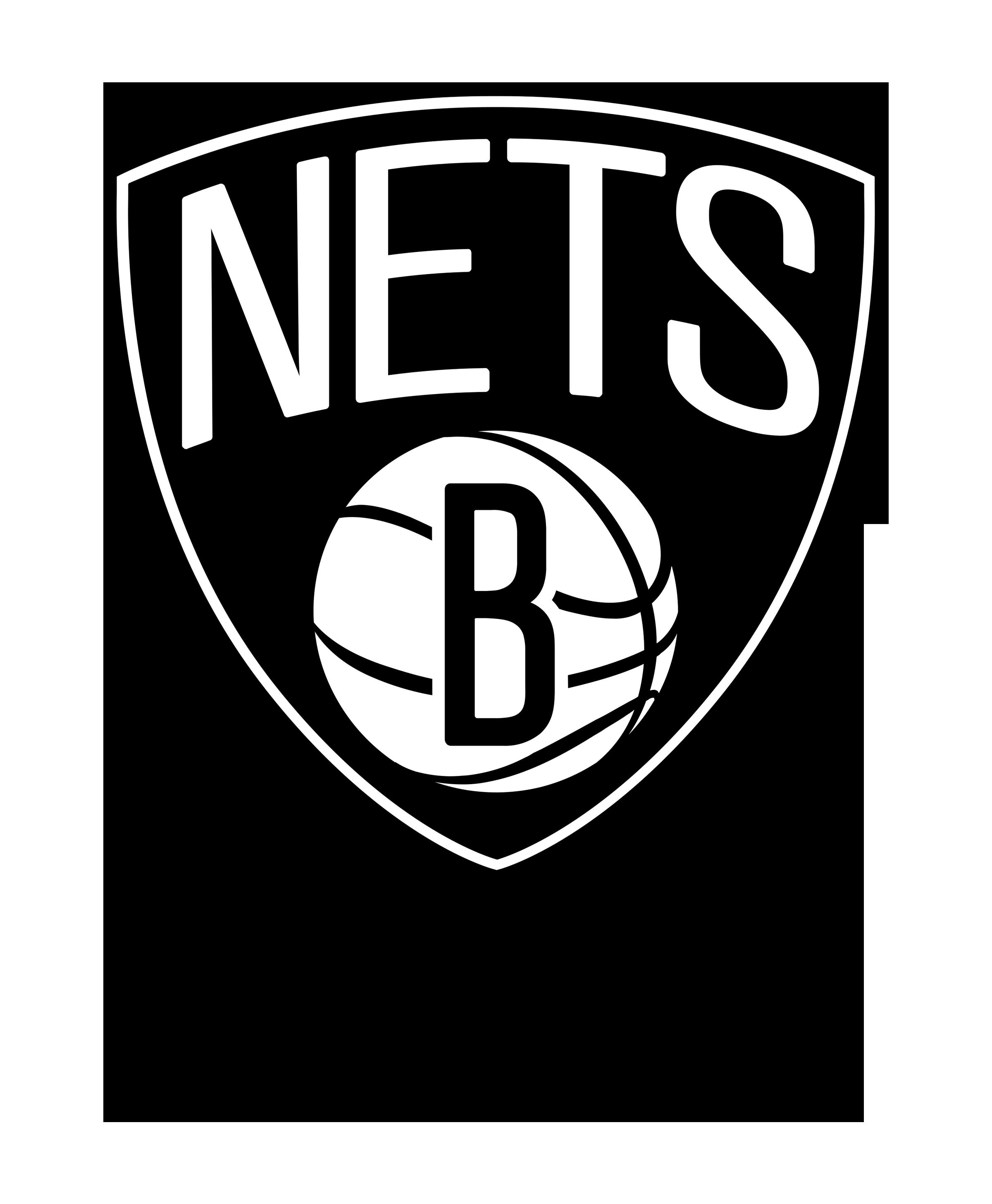 Brooklyn Nets Logo Transparent - Brooklyn Nets, Transparent background PNG HD thumbnail