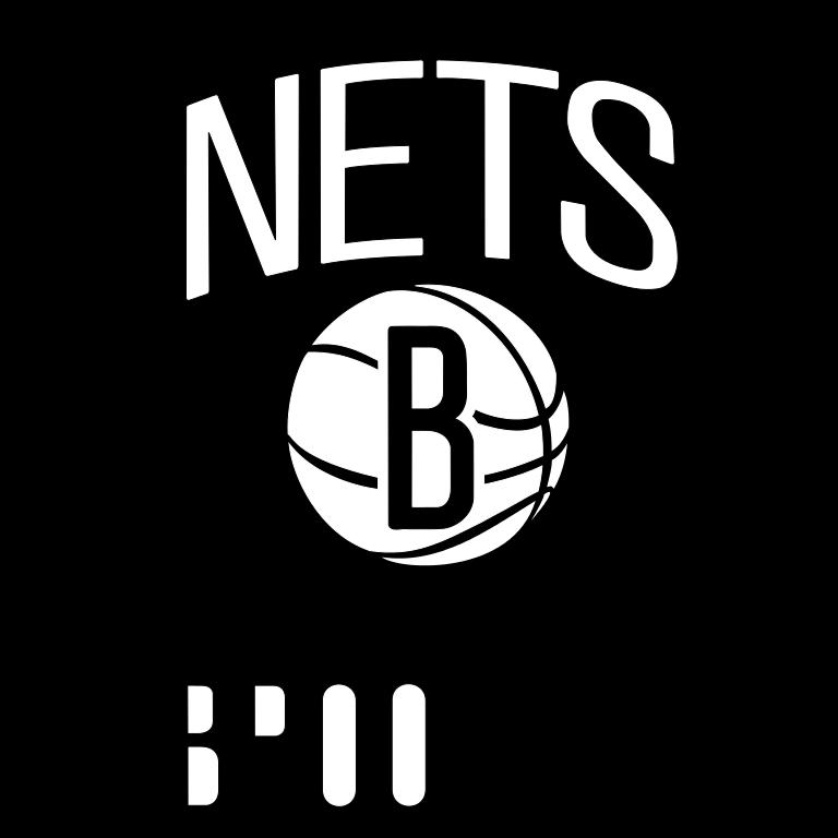 Present Logo Of The Brooklyn Nets - Brooklyn Nets, Transparent background PNG HD thumbnail