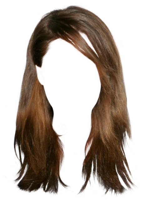 0_1265Ab_A7E5C8C0_Xl (500×644) - Brown Wig, Transparent background PNG HD thumbnail