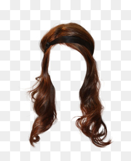 Free Wig Hair Clips To Pull The Hair Graphics, Wig, Long Hair, Material · Png - Brown Wig, Transparent background PNG HD thumbnail