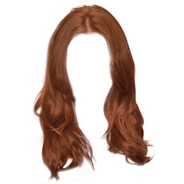 Hair_Png5636.png ❤ Liked On Polyvore Featuring Hair - Brown Wig, Transparent background PNG HD thumbnail