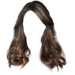 Hurley1O912.png (400×489) - Brown Wig, Transparent background PNG HD thumbnail