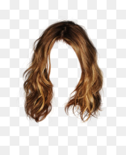 Pretty Curly Wig To Pull The Image Material Free, Pretty, Curls, Wig Png - Brown Wig, Transparent background PNG HD thumbnail