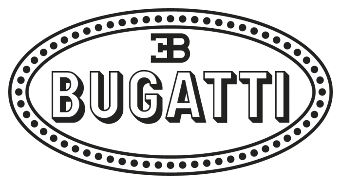 Bugatti Logo Png Clipart - Bugatti Vector, Transparent background PNG HD thumbnail