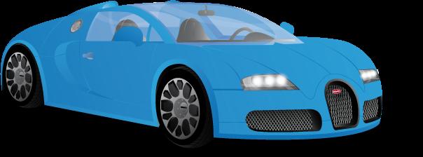 Bugatti Veyron - Bugatti Vector, Transparent background PNG HD thumbnail
