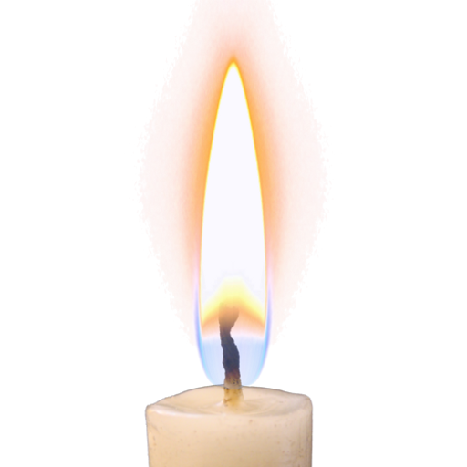 Burning Candle Png Hd - Candle Flame Png Hd Pluspng Pluspng.com 512   Candle Flame Png Hd, Transparent background PNG HD thumbnail