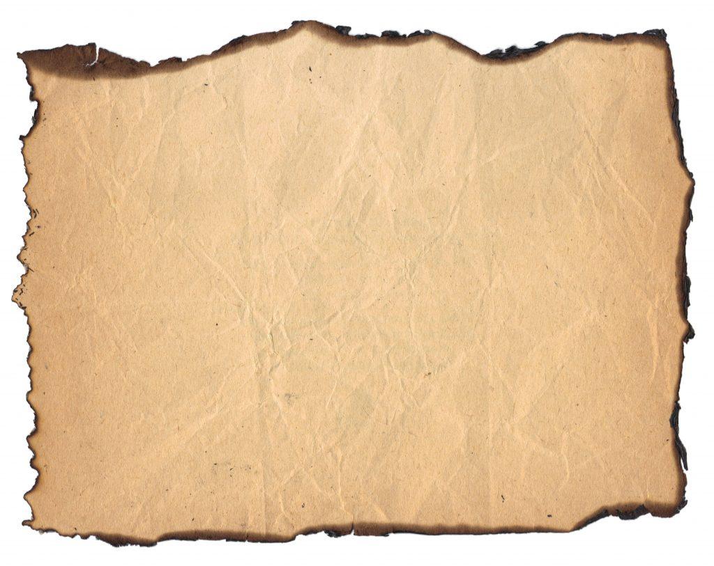 Burnt 3 - Burnt Paper, Transparent background PNG HD thumbnail