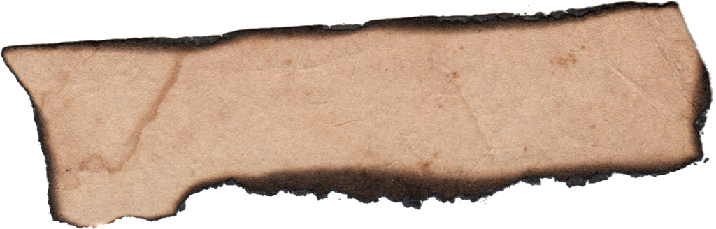 File Format: Png File Size: 591.4 Kb Free Download (Burnt Paper  Banner Label 2.png) - Burnt Paper, Transparent background PNG HD thumbnail