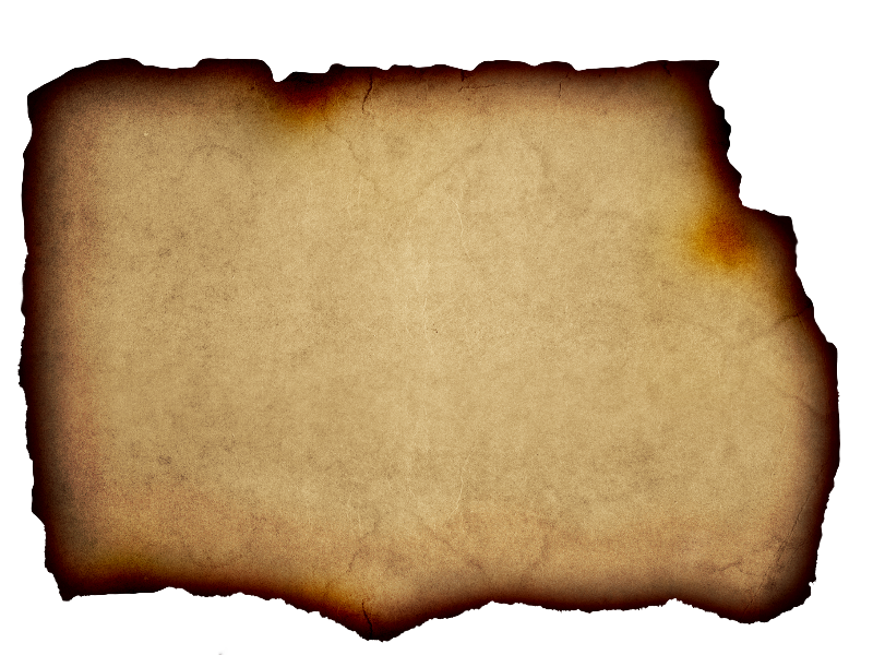 Parchment Background Free With Burnt Paper Edge - Burnt Paper, Transparent background PNG HD thumbnail