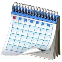 Calendar Icon 256X256 Png - Calendar, Transparent background PNG HD thumbnail