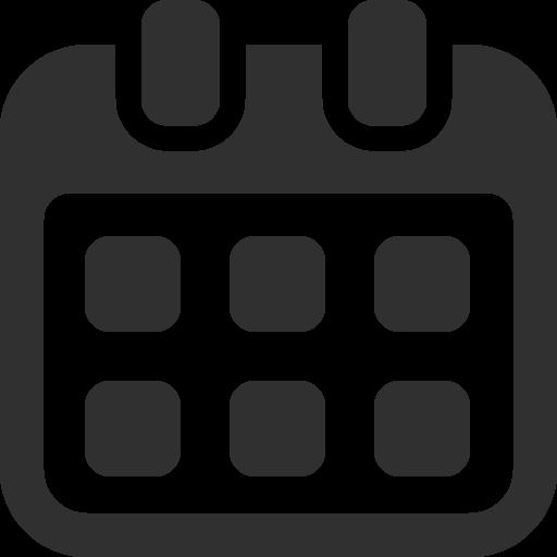 Calendar Icon Business Image #4099 - Calendar, Transparent background PNG HD thumbnail