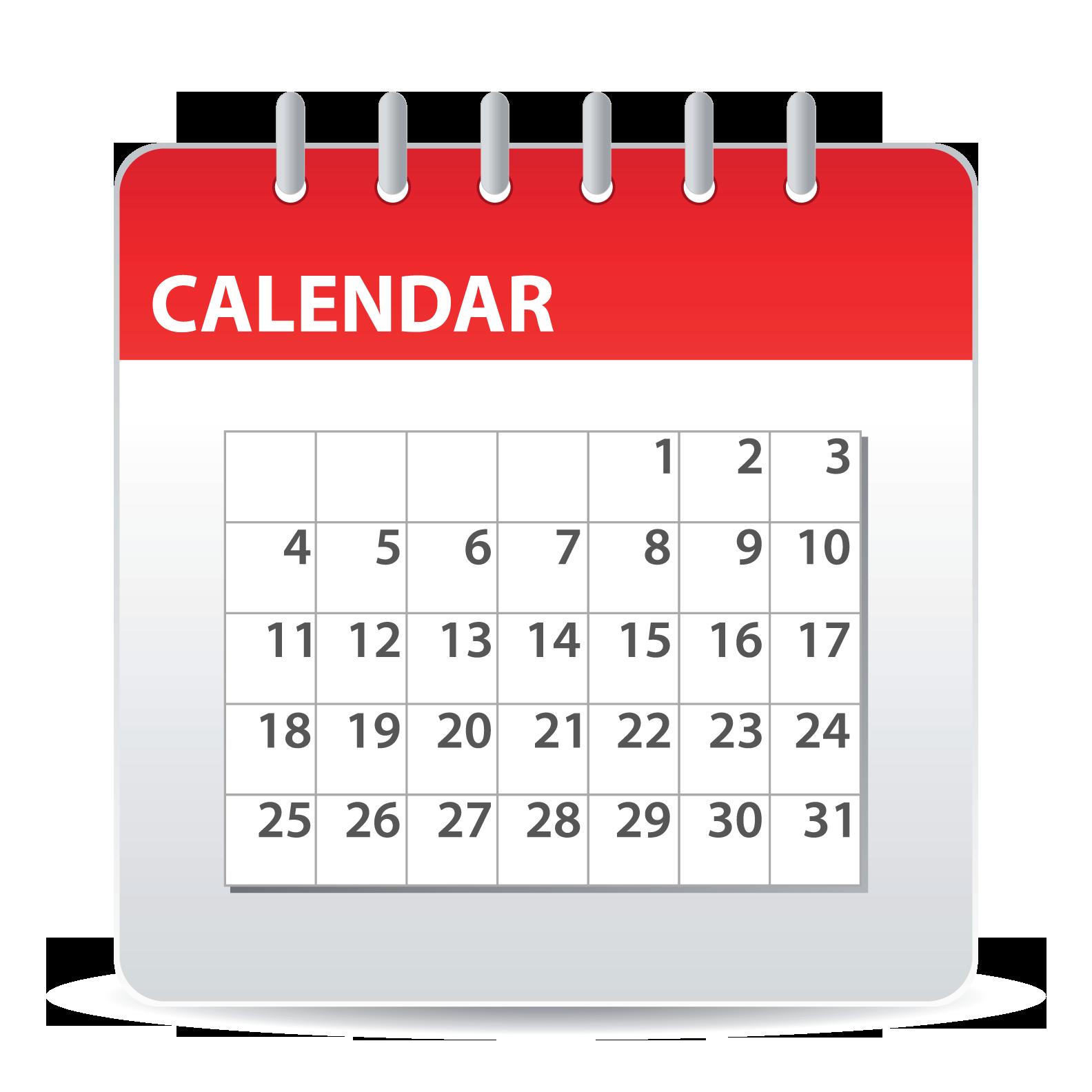 Calendar Png Image - Calendar, Transparent background PNG HD thumbnail