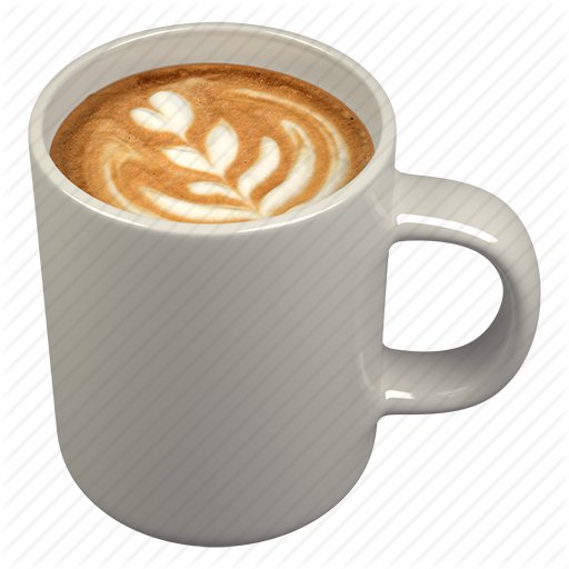 Beverage, Cappuccino, Coffee, Cup Icon - Cappuccino Cup, Transparent background PNG HD thumbnail