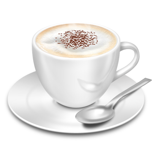 Cappuccino Icon 512X512 Png - Cappuccino Cup, Transparent background PNG HD thumbnail