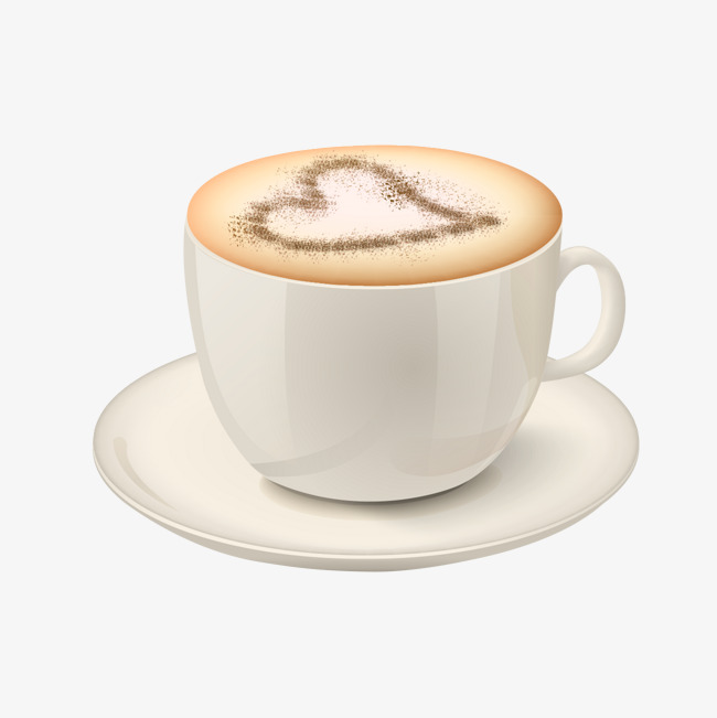Love Cappuccino, Mug, Coffee, Cappuccino Png And Vector - Cappuccino Cup, Transparent background PNG HD thumbnail
