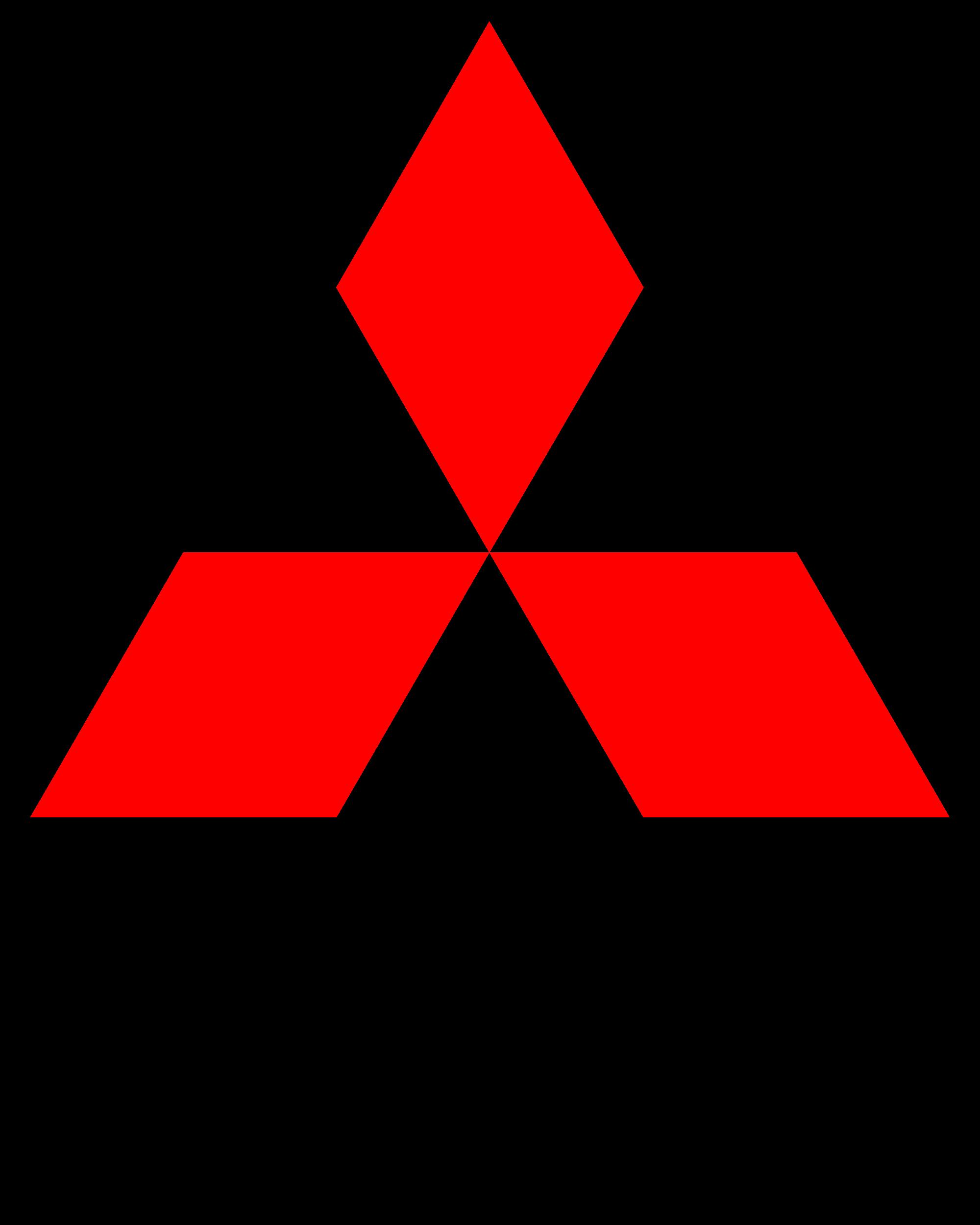 Car Logo Mitsubishi - Car, Transparent background PNG HD thumbnail