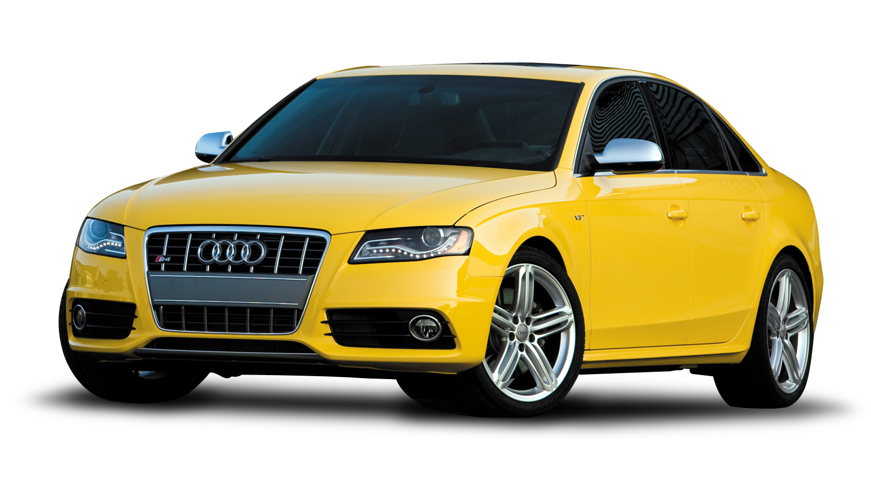 Yellow Audi Car Png Image - Car, Transparent background PNG HD thumbnail