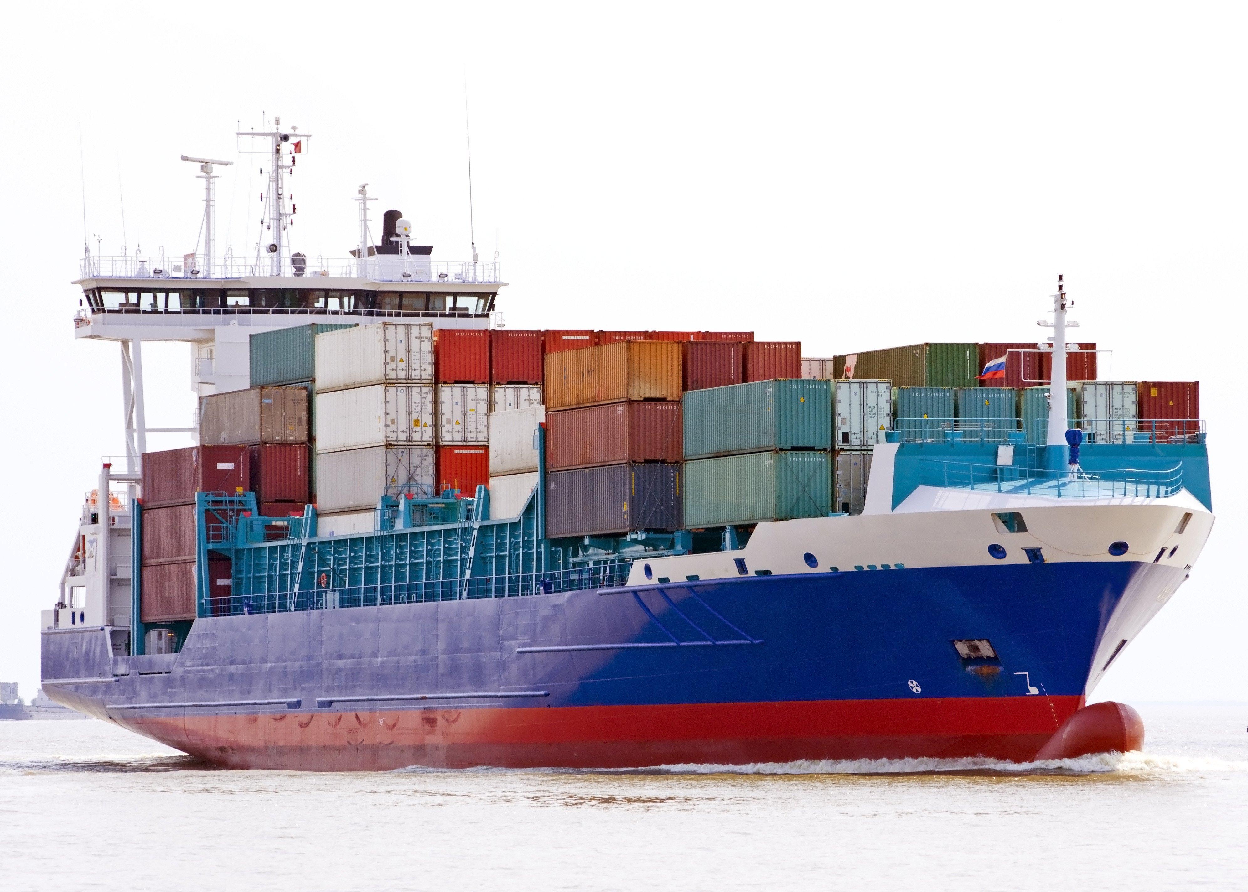 Cargo Ship PNG HD