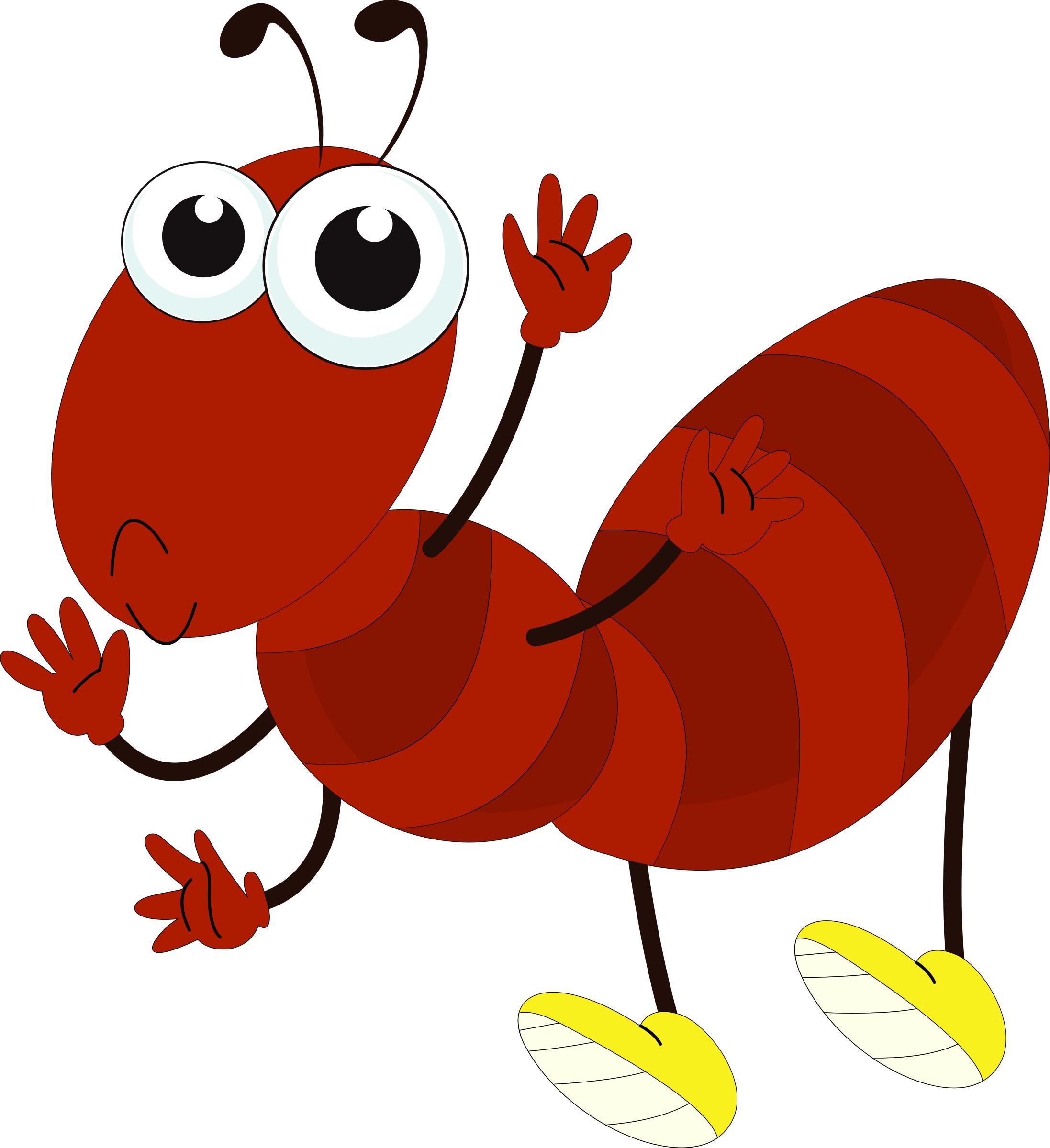 Cartoon Ant Png - Cartoon Ant Art, Transparent background PNG HD thumbnail