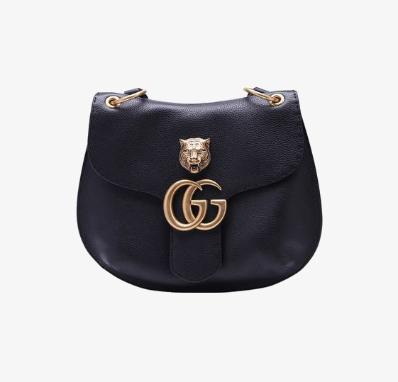 Black Leather Handbags, Product Kind, Cat Shaped Metal Bag, Shoulder Bag Free Png Image - Cat In A Bag, Transparent background PNG HD thumbnail