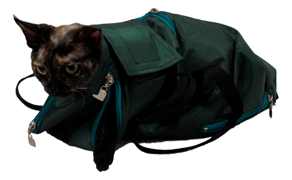 Cat Immobilizing Bag - Cat In A Bag, Transparent background PNG HD thumbnail