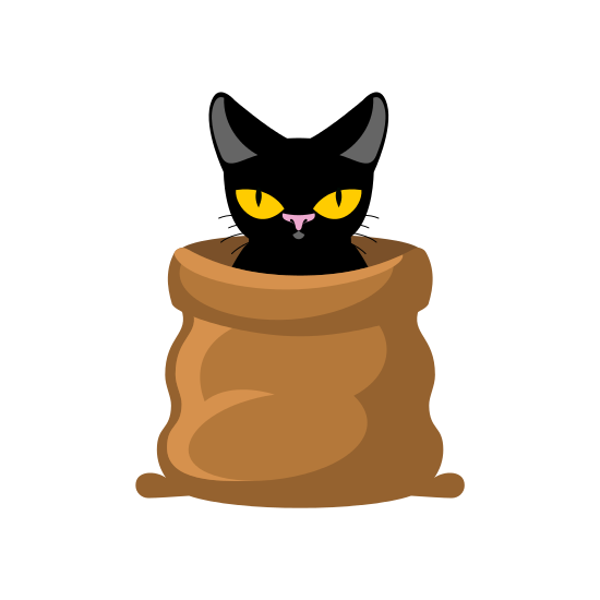 Cat In Bag - Cat In A Bag, Transparent background PNG HD thumbnail